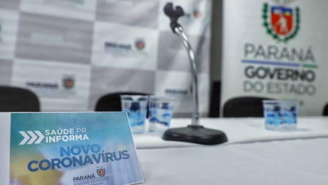 Número de casos de coronavírus passa de 3500 no Paraná desde o início da pandemia.