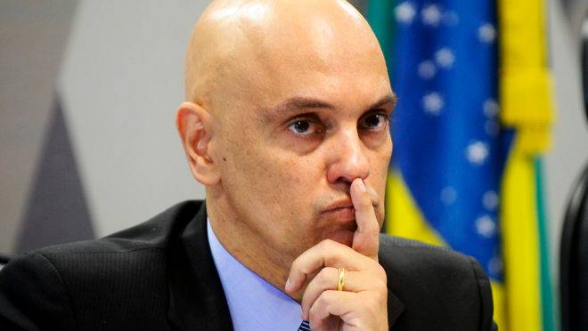 Alexandre de Moraes é o ministo relator do inquérito das fake news no STF.