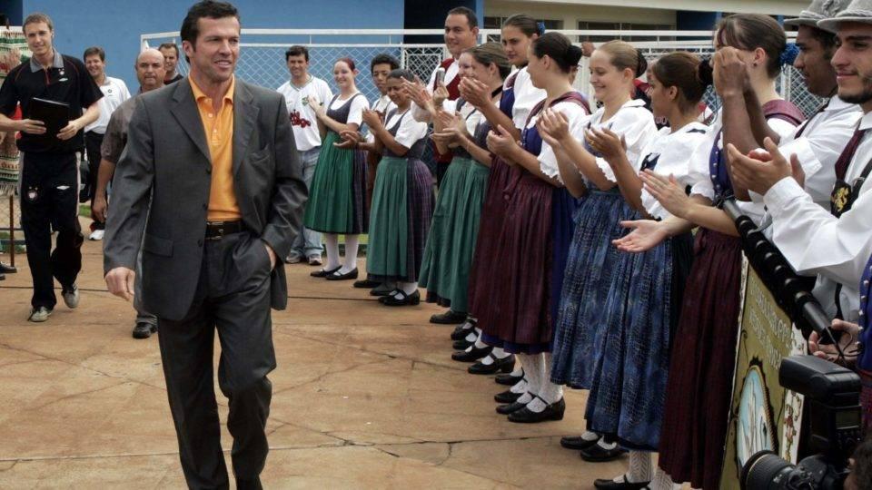O dia em que Matthäus, no Athletico, ganhou recepção alemã arranjada por nós, da Gazeta