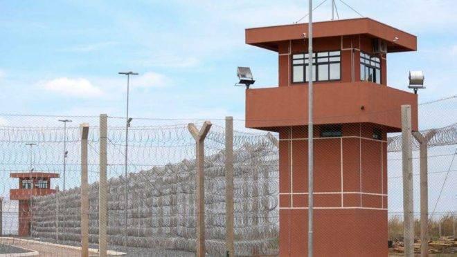 Penitenciaria federal de seguranca maxima de Brasilia.