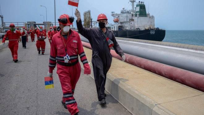 irã venezuela petróleo