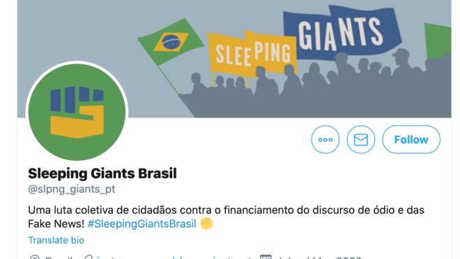 sleeping giants brasil