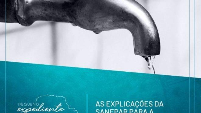 Podcast: Por que falta água na torneira? Com a palavra, a Sanepar