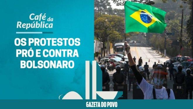 As manifestações pró e contra Bolsonaro. E os casos de violência dos dois lados