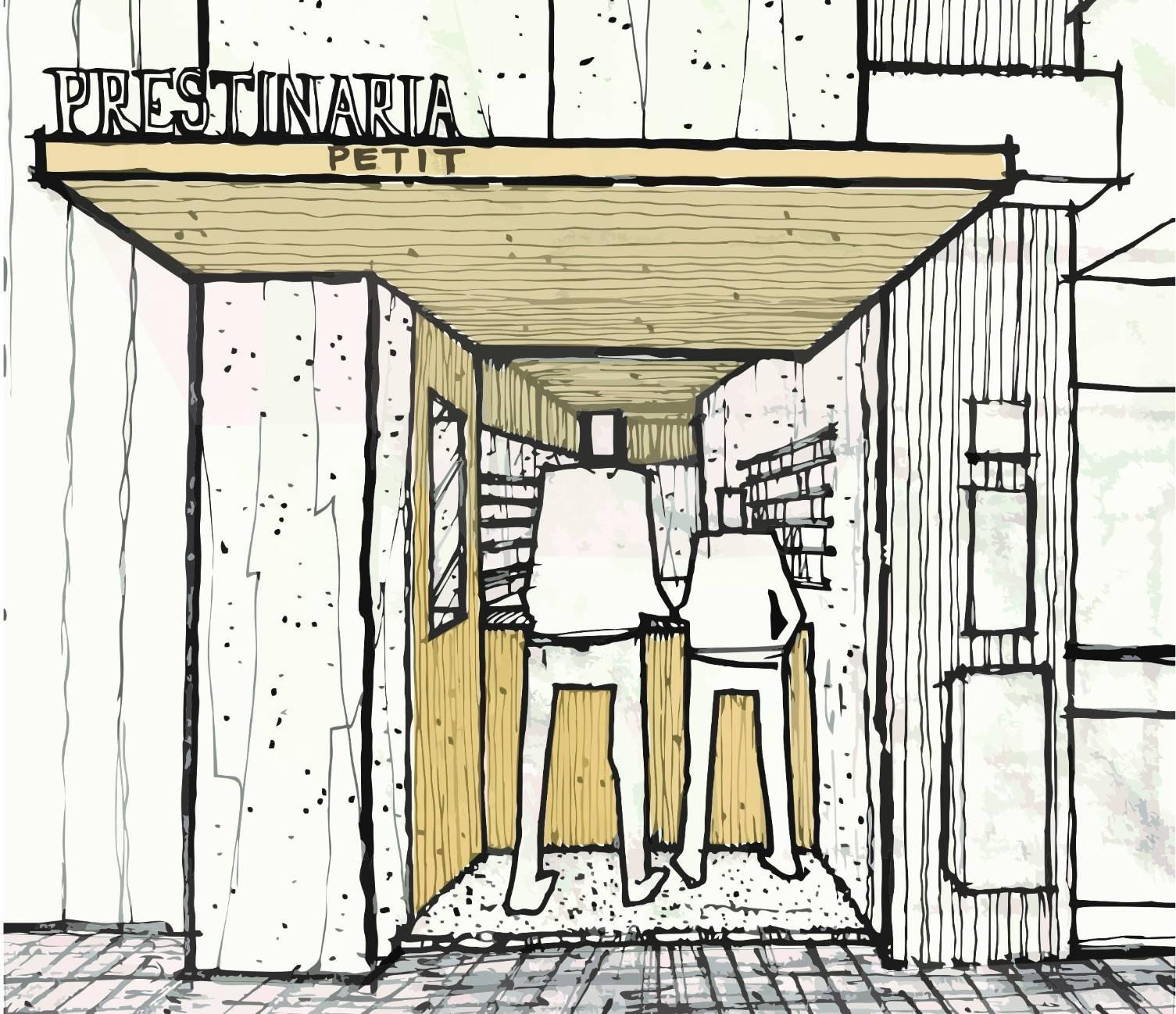 Projeto da Prestinaria Petit é da MG2 Arquitetura. Foto: Divulgação/Prestinaria