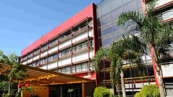 Campus da PUCPR na capital paranaense