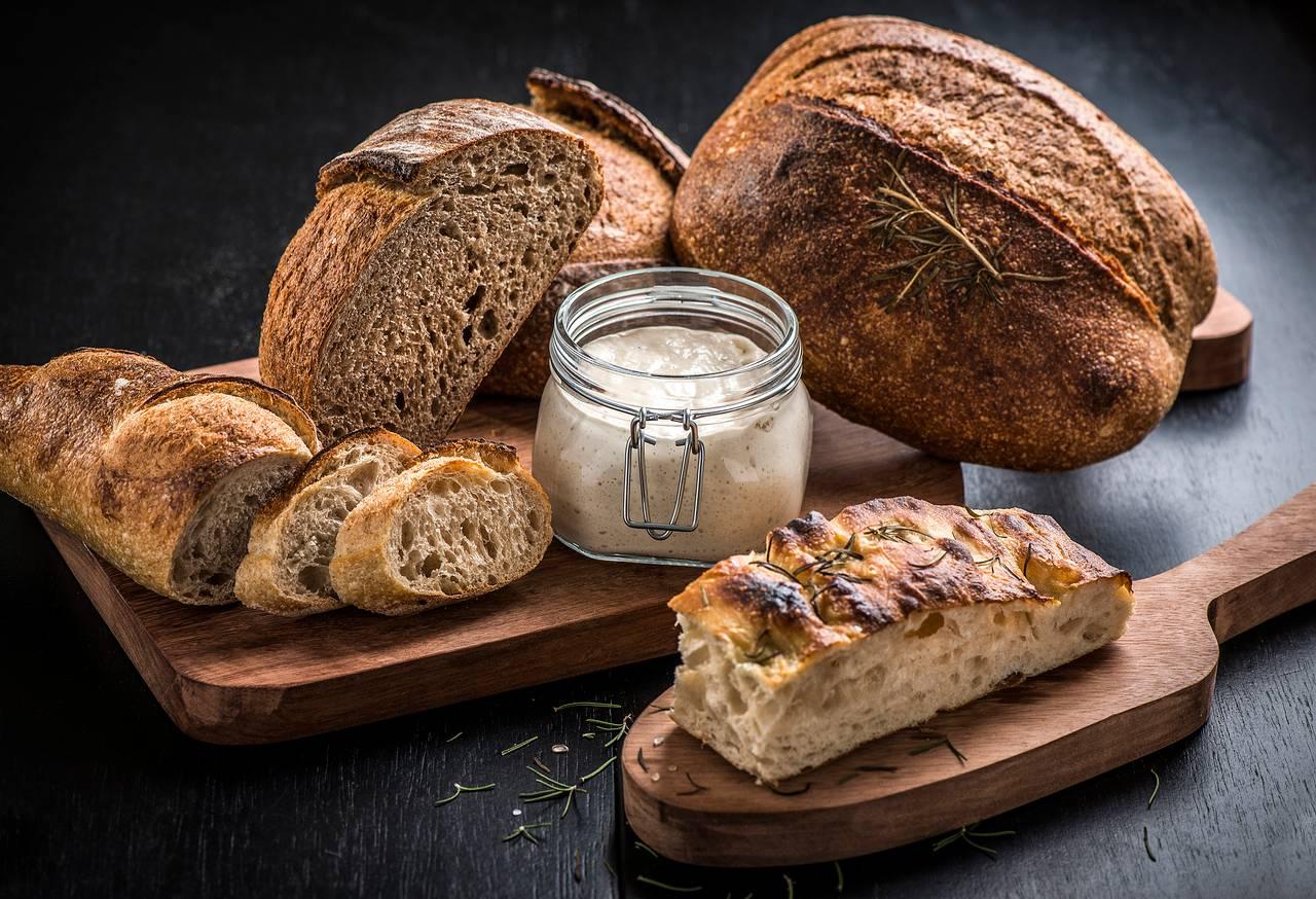 FERMENTADOS pães