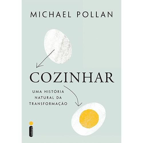 """Capa do livro """"Cozinhar"""""""