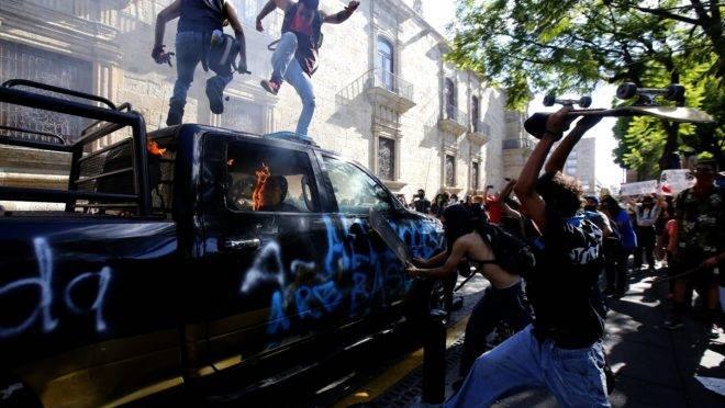 protesto méxico