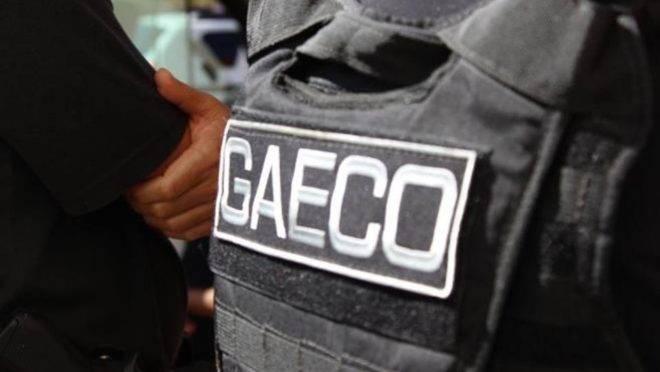 Gaeco cumpriu mandados com apoio da Polícia Militar