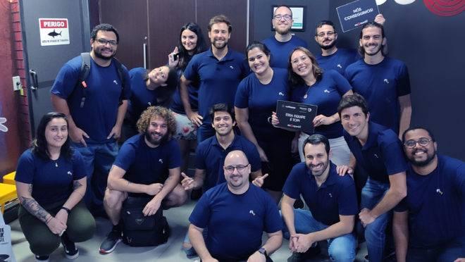 Equipe da Fliper, comprada pela XP Investimentos.