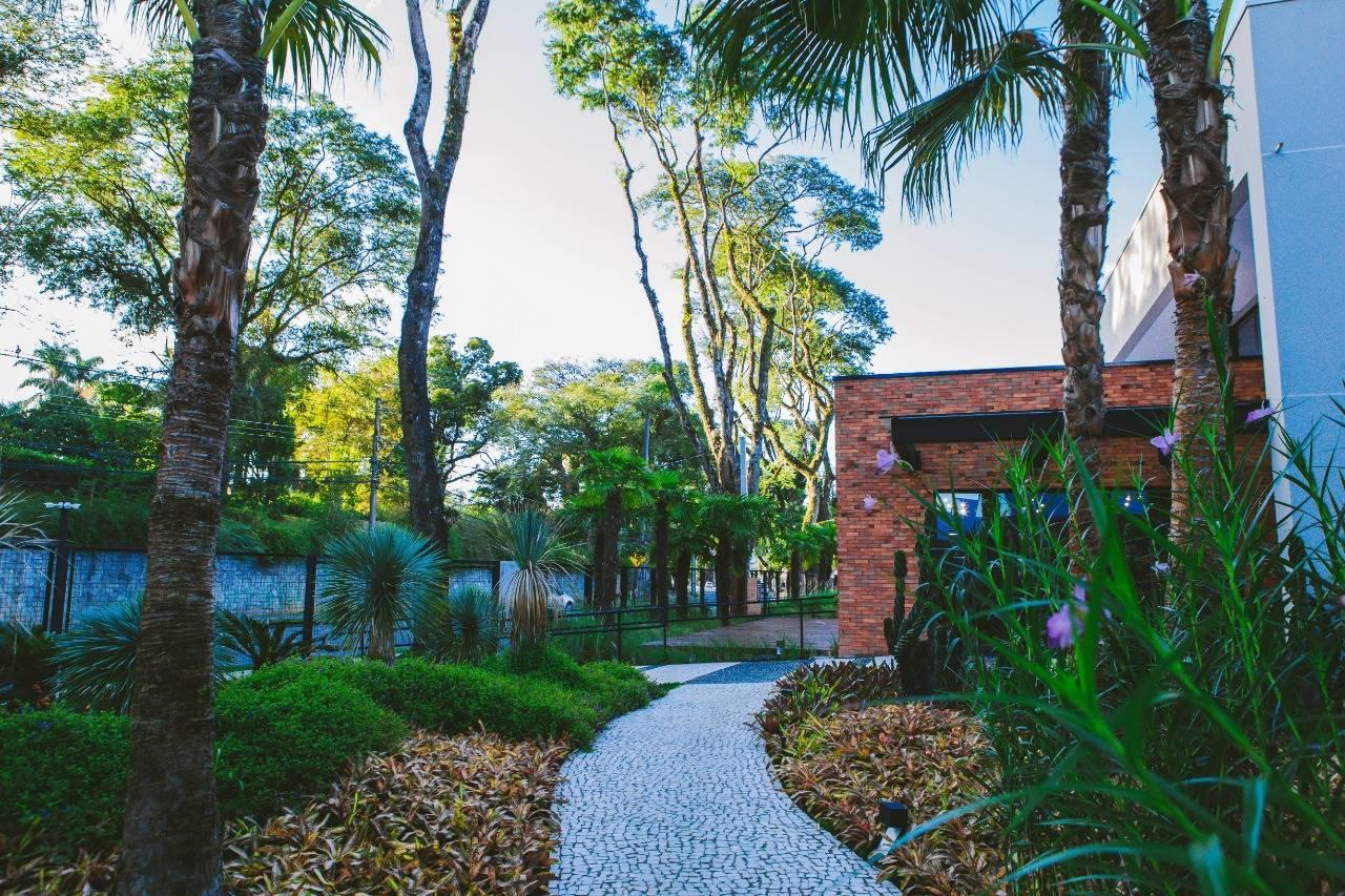 Jardim é um dos destaques da Orquidaria Rosita.