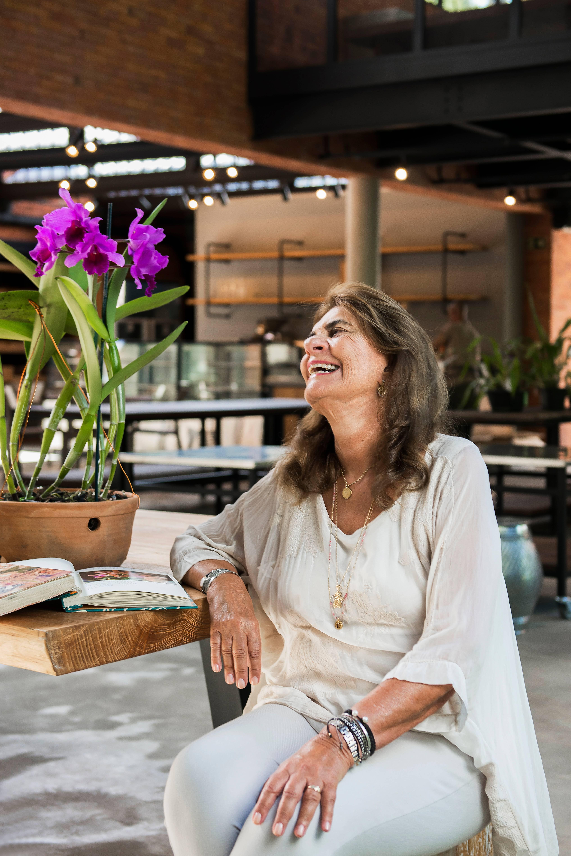 Rosita Rischbieter coleciona orquídeas há mais de 15 anos.