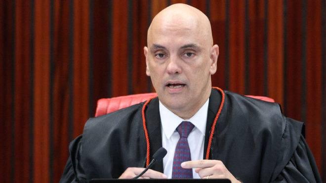 Ministro Alexandre de Moraes, do TSE
