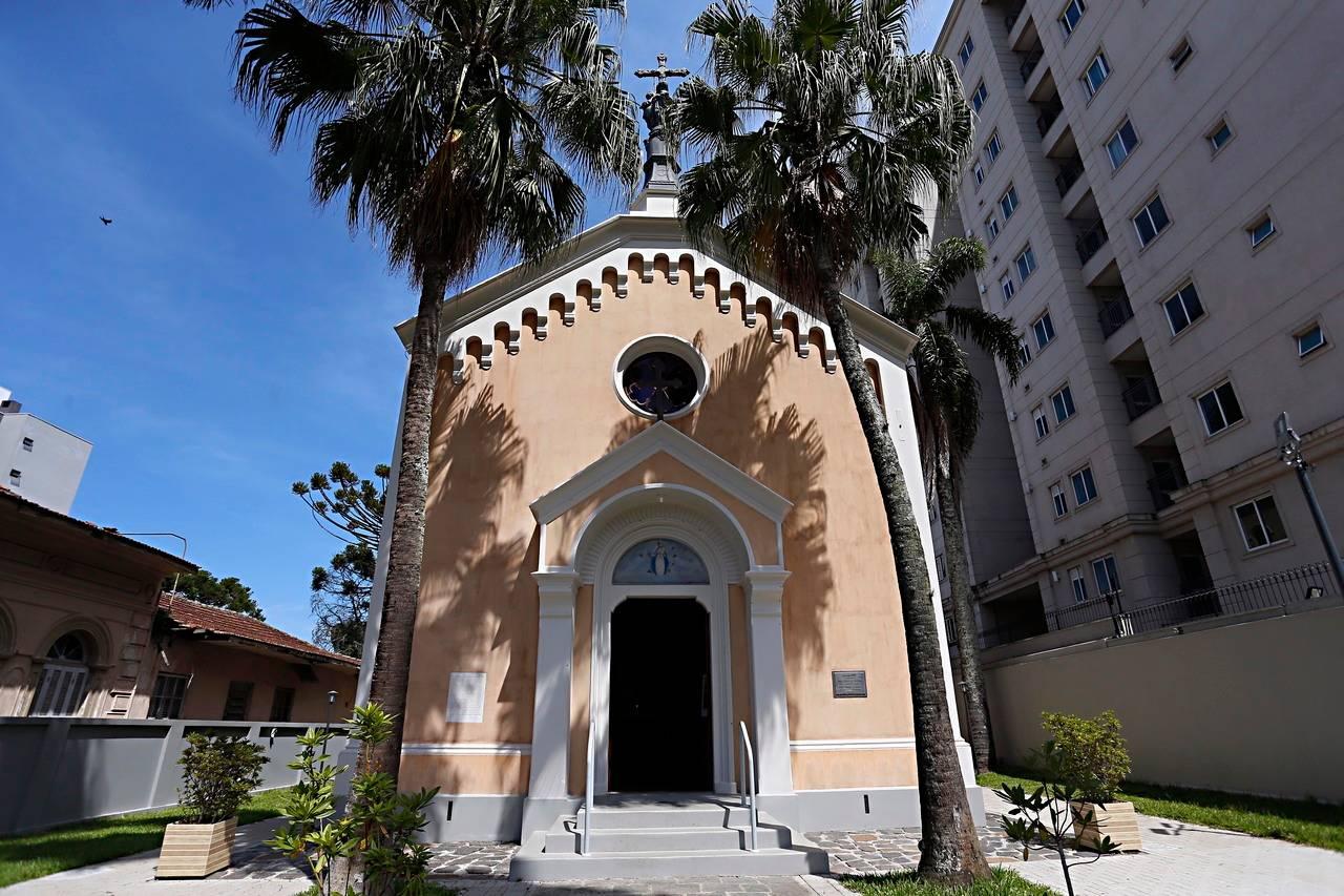 Capela da Glória foi construída em 1895. Foto: Albari Rosa