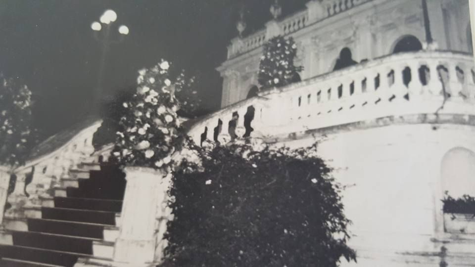 Palacete dos Leões em um dos últimos eventos sociais realizados na fase residencial da mesma. Foto: Acervo Cassiana Lacerda