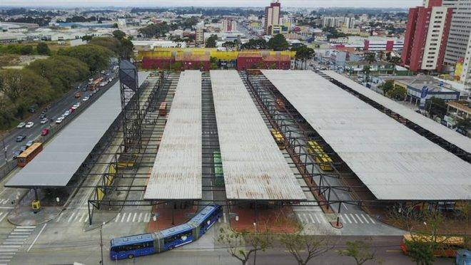 Terminal do Pinheirinho.