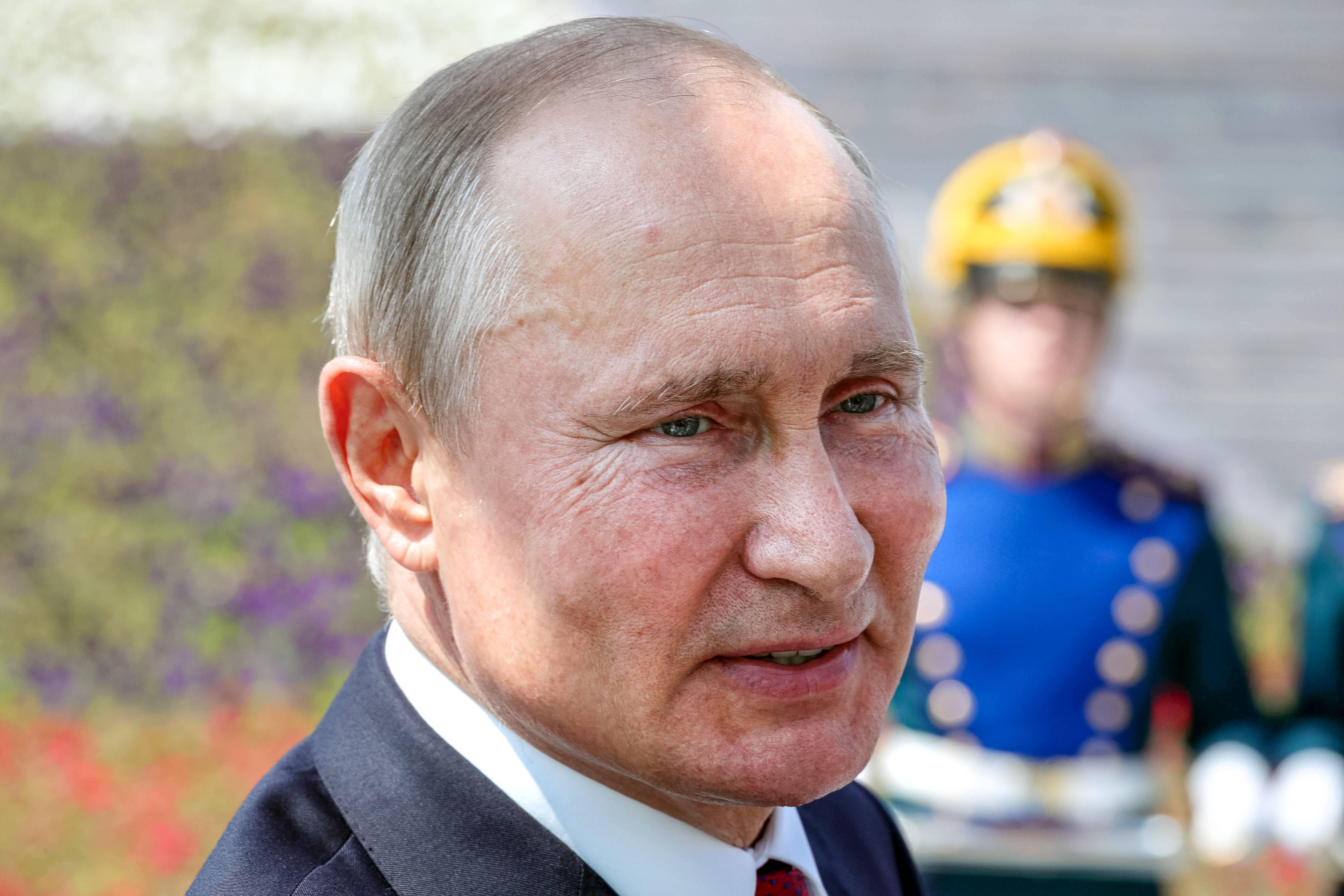 Presidente russo, Vladimir Putin   FOTO: Mikhail Klimentyev/SPUTNIK/AFP