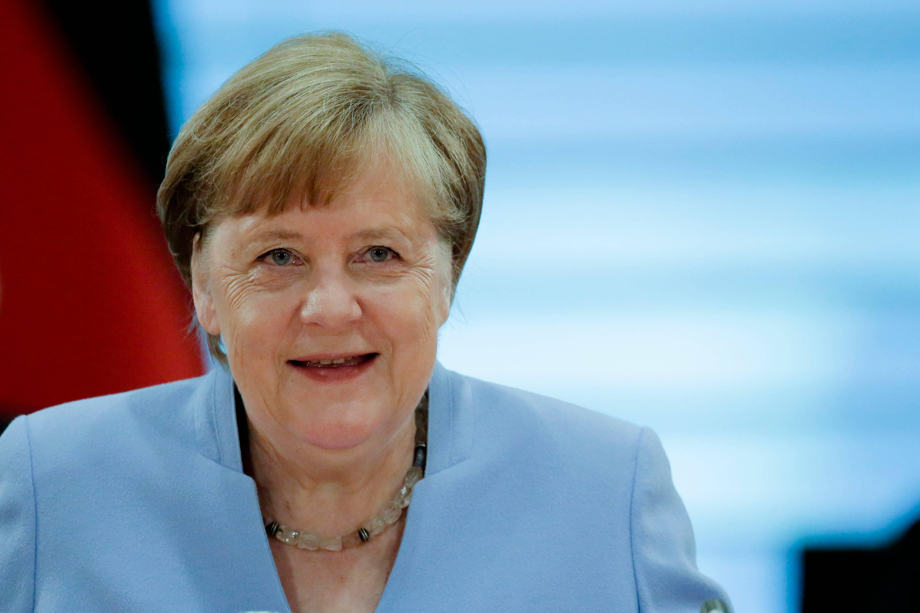 Chanceler Angela Merkel   FOTO: Markus Schreiber / POOL / AFP