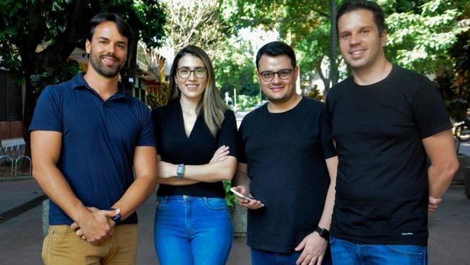 Confundadores da startup de mobilidade VOLL.