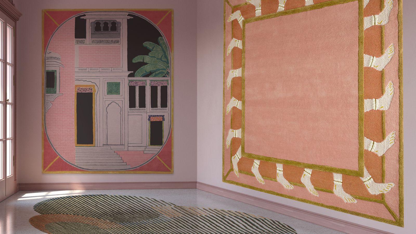 Tapetes de Matteo Cibic para Jaipur Rugs.
