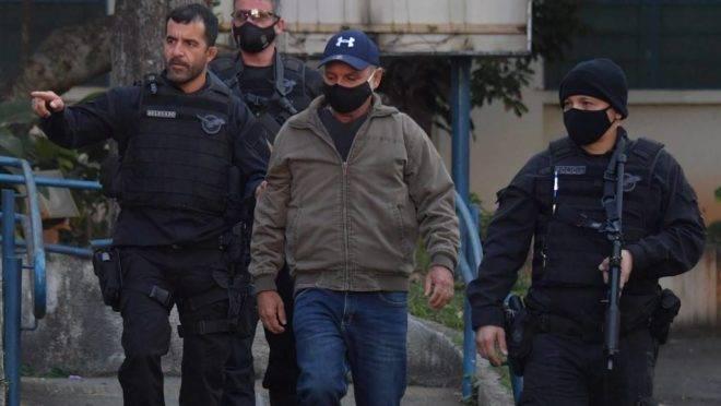 Fabrício Queiroz, ex-assessor de Flavio Bolsonaro, foi preso em Atibaia (SP) na quinta-feira (18)