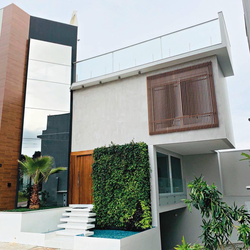 Casa mais sustentável do Brasil é de Curitiba. Foto: Divulgação