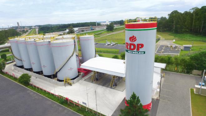 Base de Distribuição de Araucária com capacidade de movimentação de 1 bilhão de litros de combustíveis por ano