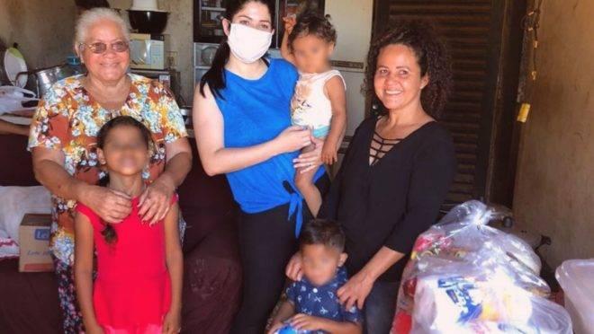 Dona Marilda chega a alimentar, todos os dias, 180 pessoas