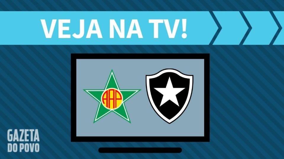 Portuguesa-RJ x Botafogo AO VIVO: como assistir ao jogo na TV