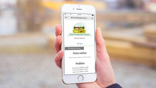 Startup Cooltivando desenvolveu a plataforma Banco de Alimentos durante a quarentena para ajudar produtores rurais