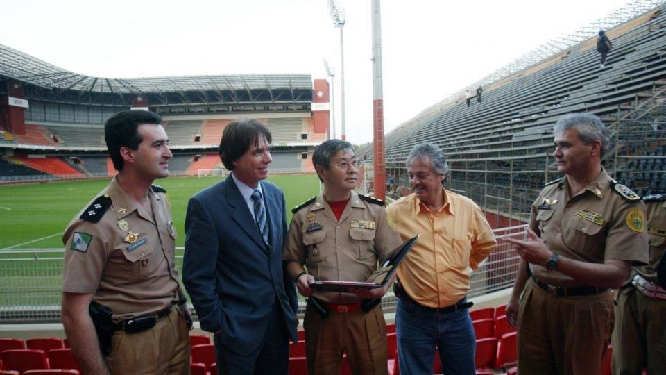 Diário do Athletico na final, 4/7: tensão! Em fotos, a saga da Libertadores 2005