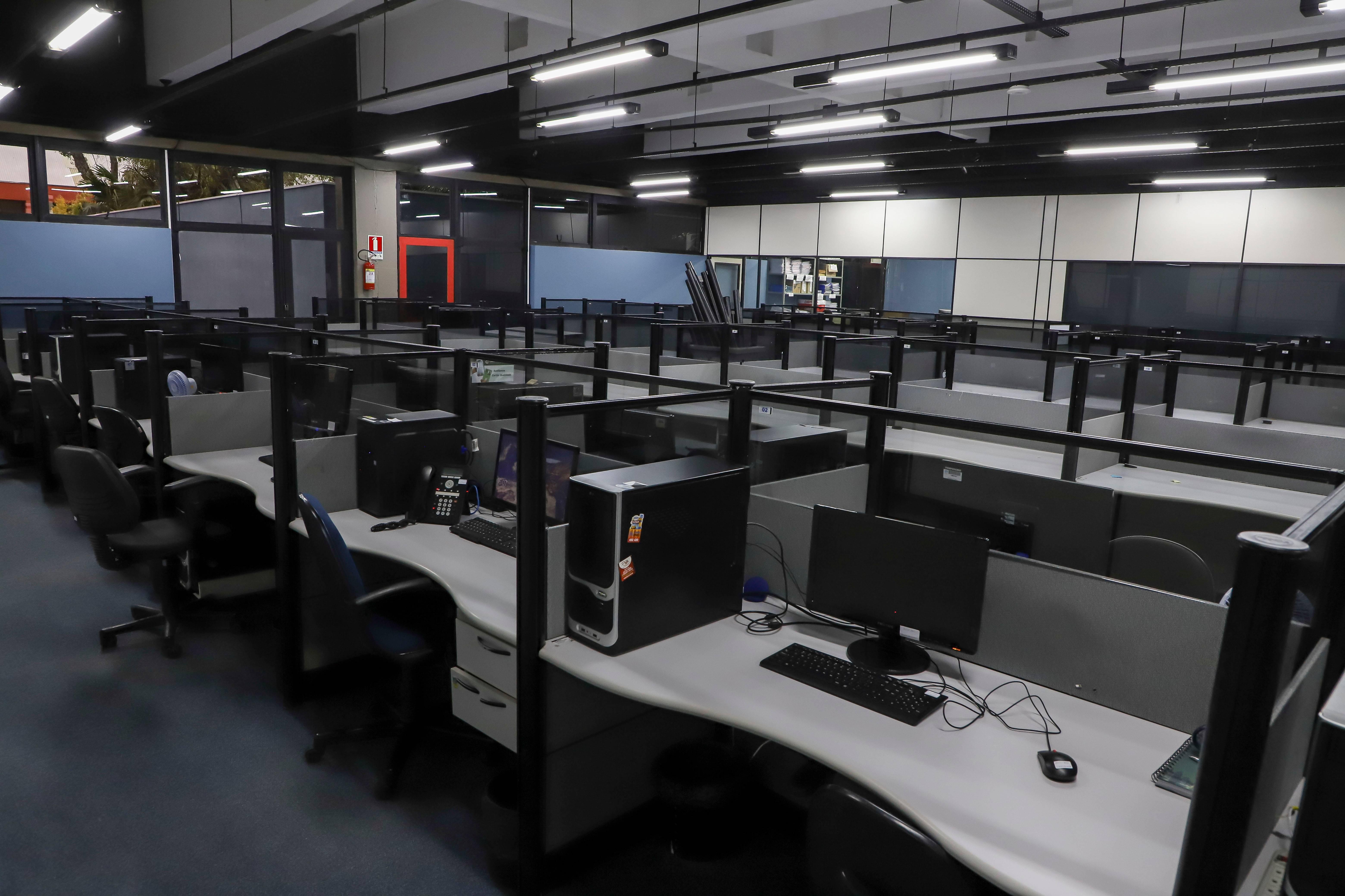 Centro de Controle de Operações (CCO) já começou a ser instalado no prédio do ICI