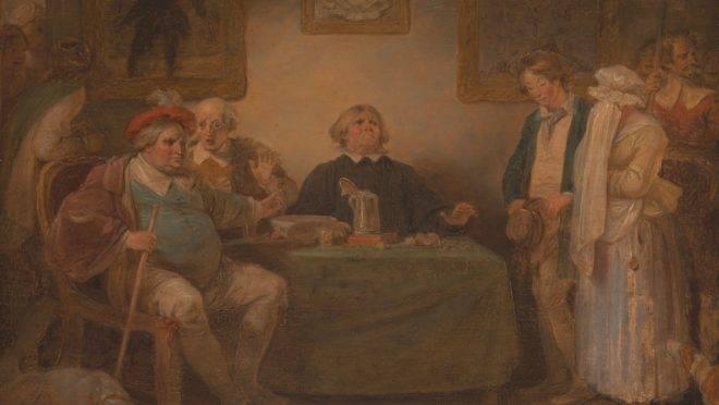 """Da série As Sete Eras do Homem: """"A justiça"""" (entre 1798 e 1801), de Robert Smirke."""