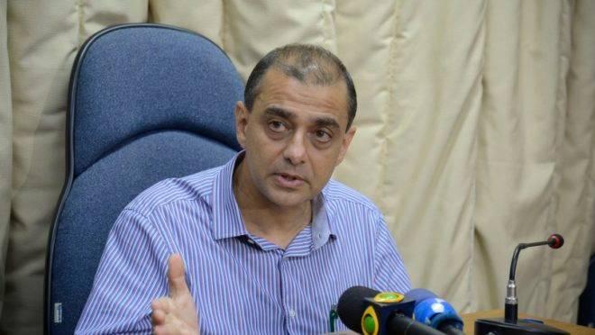 O ex-secretário de Saúde do Rio, Edmar Santos.