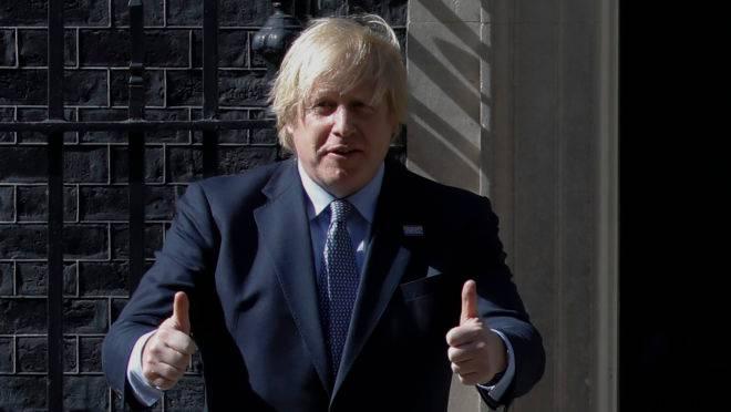O primeiro-ministro do Reino Unido, Boris Johnson, foi diagnosticado com a doença em março de 2020 (Tolga Akmen / AFP)