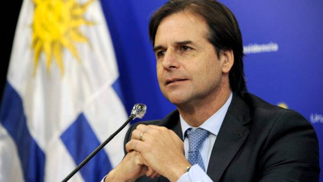 lacalle pou Uruguai