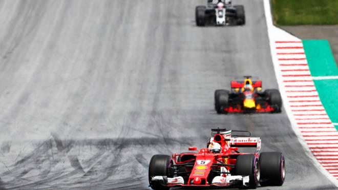 Imagem do GP da Áustria, no último domingo