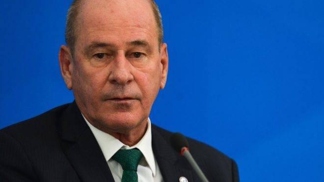 O ministro da Defesa, Fernando Azevedo e Silva.