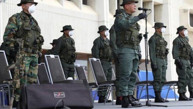 O ministro da Defesa do país, Vladimir Padrino Lopes