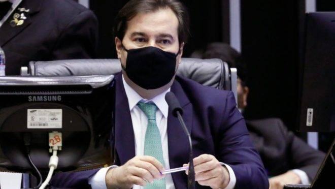 Presidente da Câmara, Rodrigo Maia, disse que se projeto for aprovado, quarentena para juízes pode valer já para a eleição de 2022.