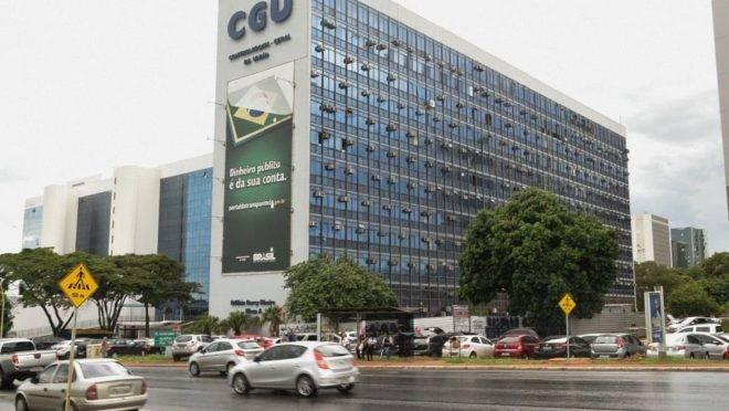 Prédio da CGU, em Brasília