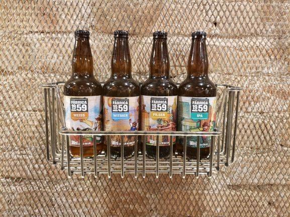 <strong>Fábrica 1959 Wess da Cervejaria Imigração:</strong> 500 ml, teor alcoólico 5%, preço R$ 12,90.