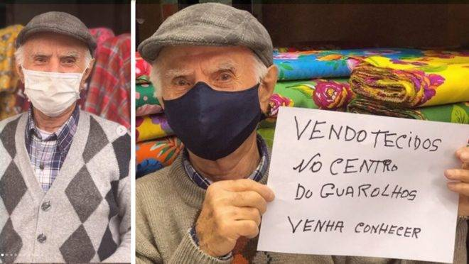 O libanês Youssef Aoun emocionou pessoas de todo o Brasil ao convidar a população para conhecer sua loja.