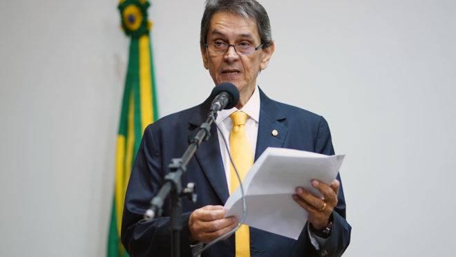 O presidente nacional do PTB, Roberto Jefferson.