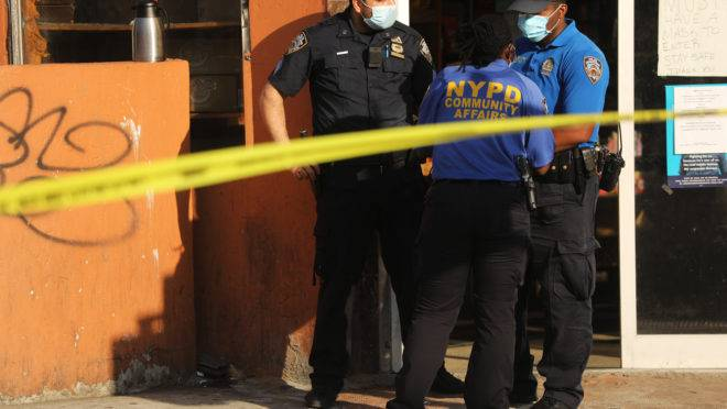nova york violência