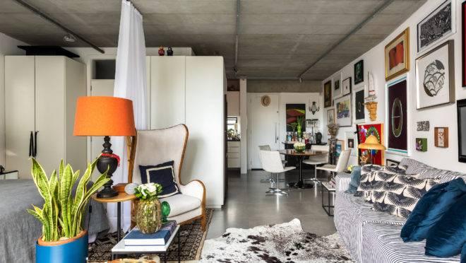 Projeto do Studio Architetonika Nomad trabalhou com referências afetivas no loft de 53 m²