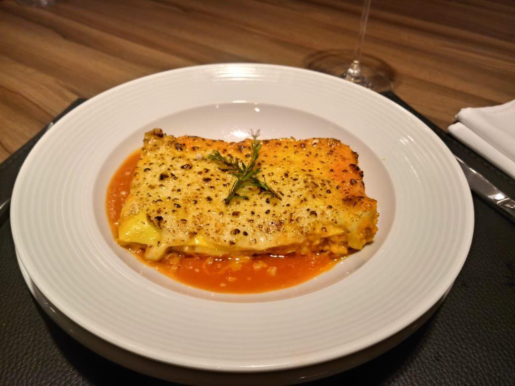 Lasagna Emiliana do Euro Bistrô. Foto: Divulgação