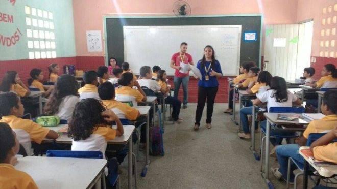 Escola pública de Sobral, no Ceará