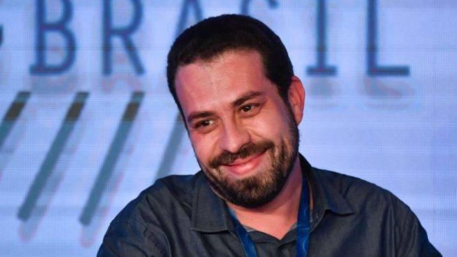 Ex-candidato à Presidência da República Guilherme Boulos (PSOL)